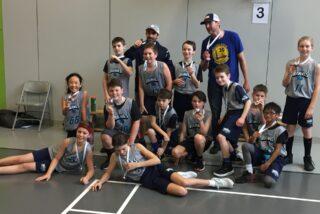 Les Braves basketball CC - médaille de bronze